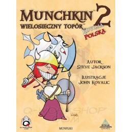 Munchkin 2 Wielosieczny Topór