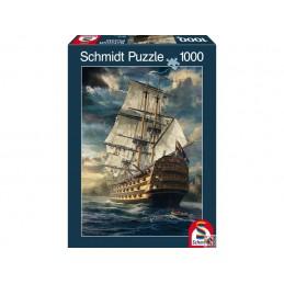 PQ Puzzle 1000 el. Żagle w...