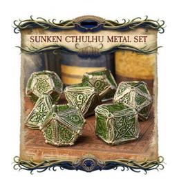 Metal Sunken Cthulhu Dice...