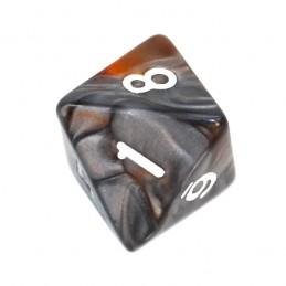 Kość RPG K8 - liczby