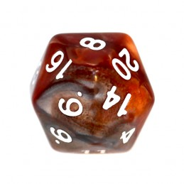 Kość RPG K20 - liczby