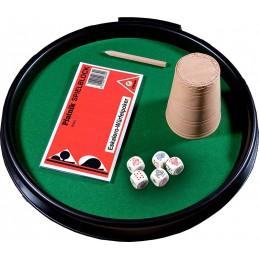 Kości pokerowe z tacką,...